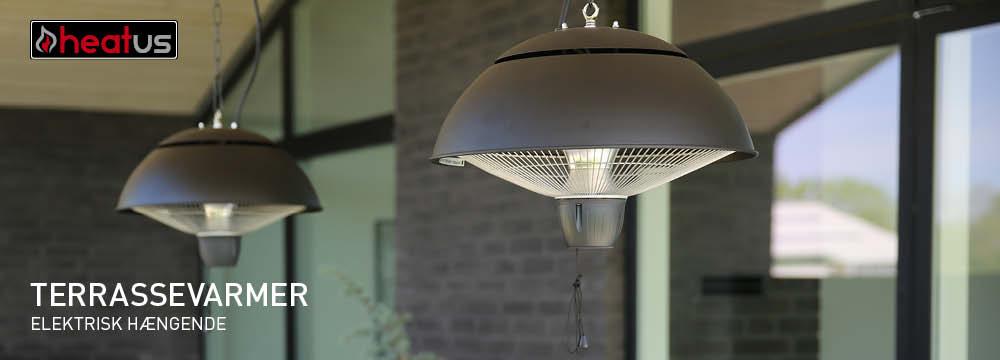 Modernistisk Elektrisk terrassevarmer - Bestil nu - vi sender alle hverdage. IB96