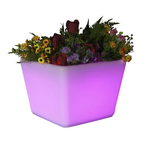LED krukke 35x35x27 cm led krukke
