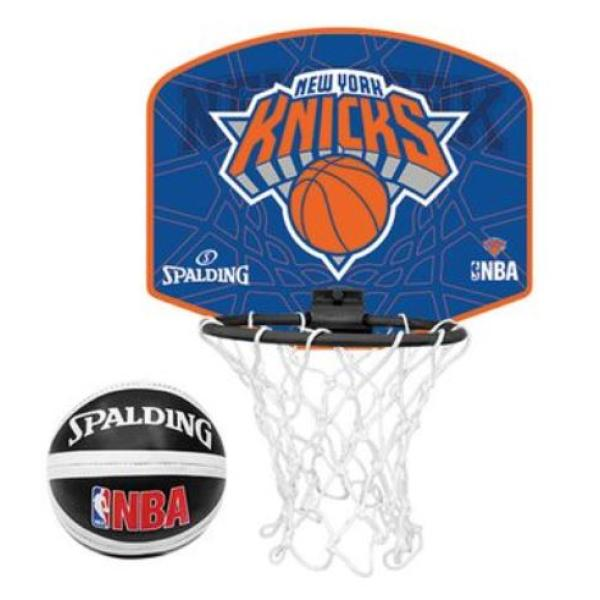 Spalding mini board-NY Knicks basketball plade