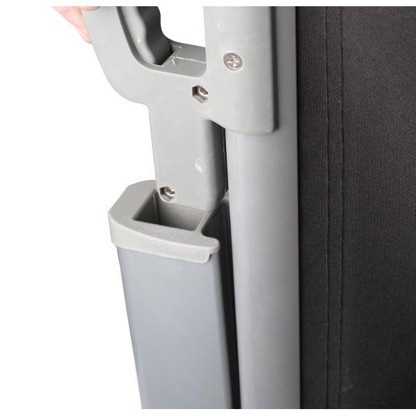 Læsejl sort/grå lukket 160x300cm, køb din nye Læsejl sort/grå ...