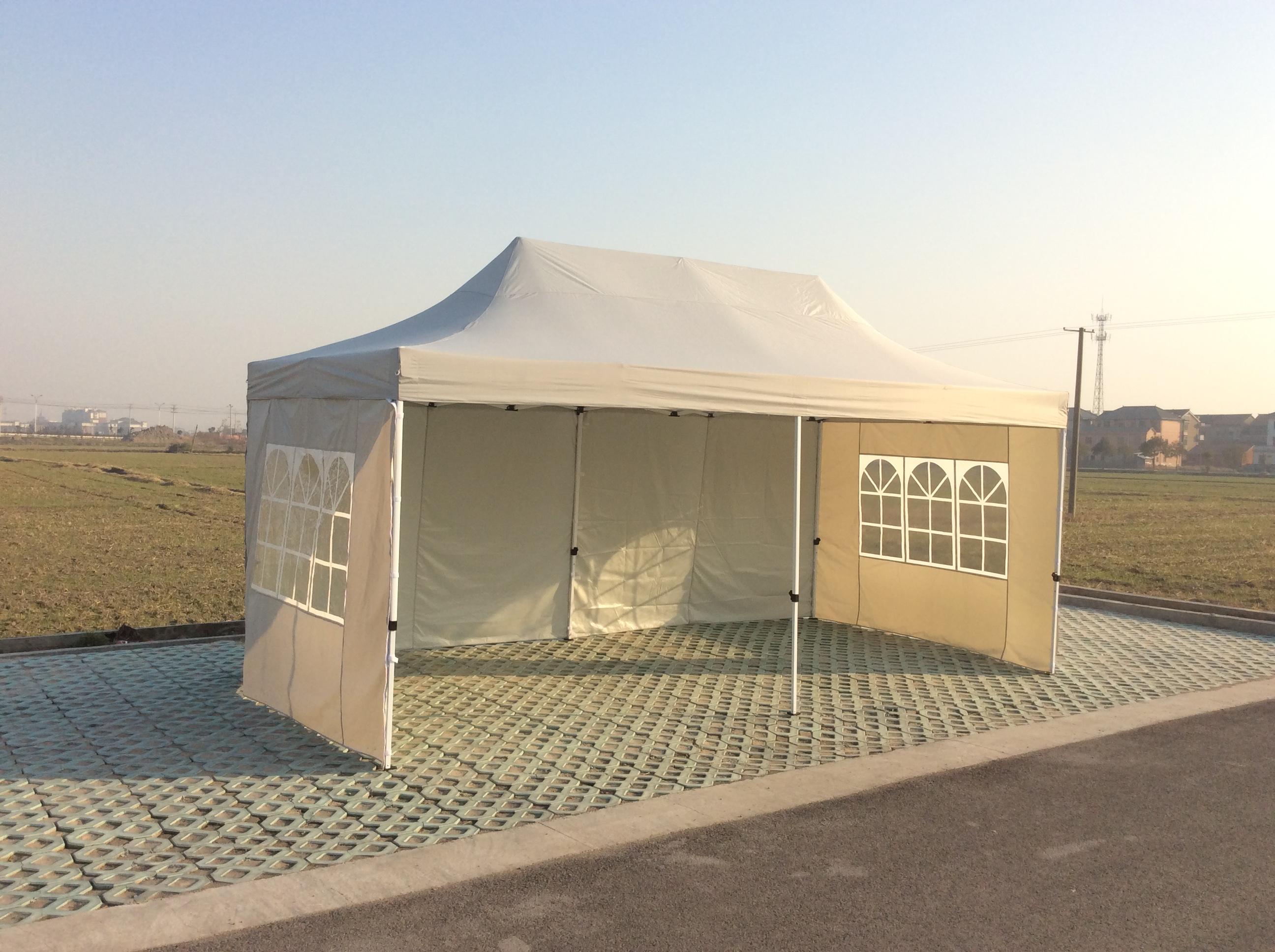Pavillon foldbare 6x3m lys grå, køb din nye Pavillon foldbare 6x3m lys grå på www.moreland.dk