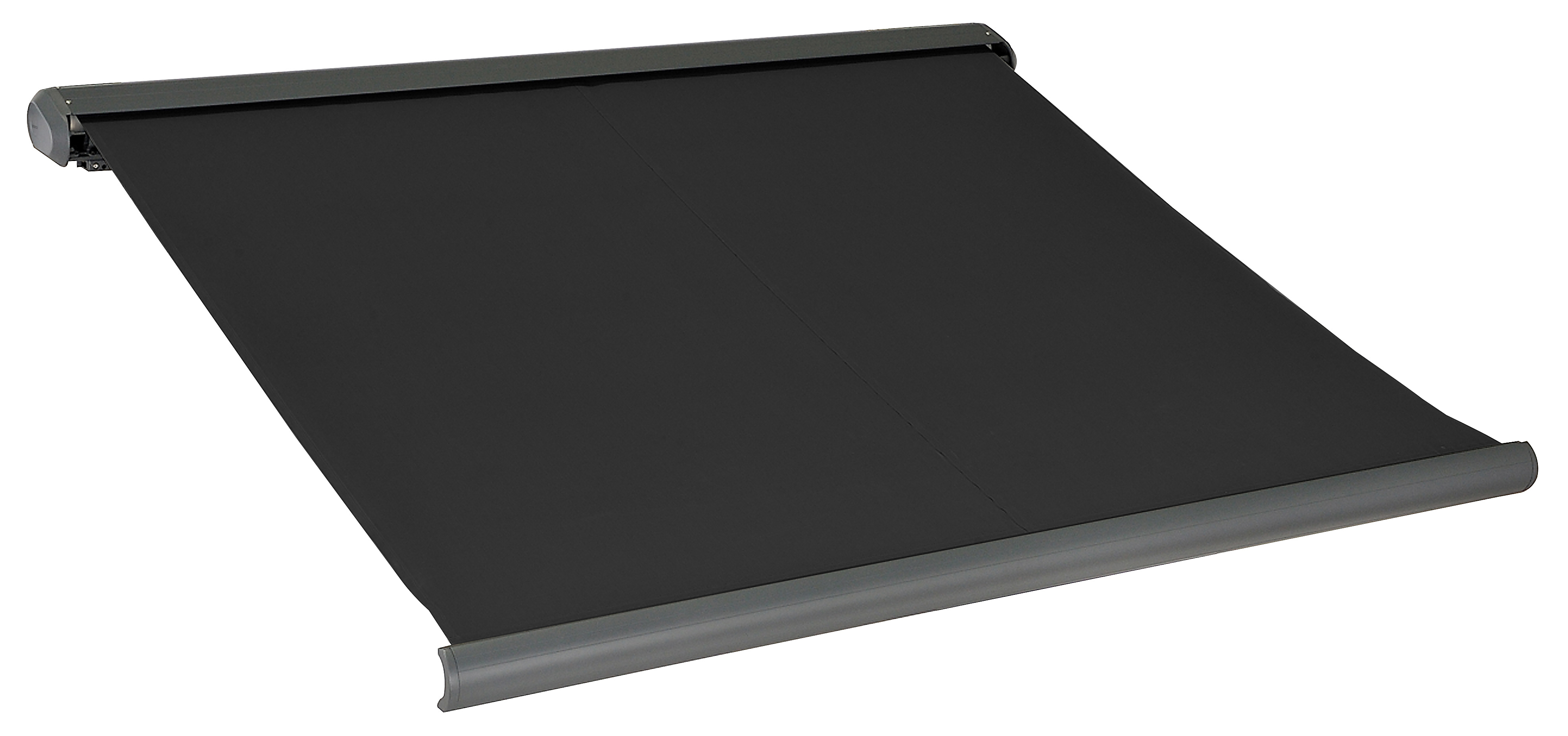 elektrisk markise lukket 250x200cm sort antracitgr k b din nye elektrisk markise lukket. Black Bedroom Furniture Sets. Home Design Ideas