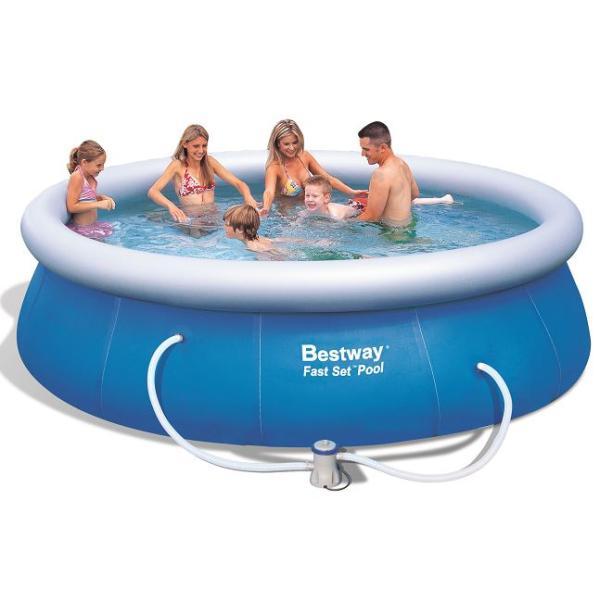 Bestway pool ø366 366x91cm, køb din nye Bestway pool ø366 366x91cm på www.moreland.dk