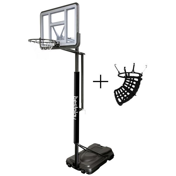 Bestplay PRO safe basketballstander + ball return