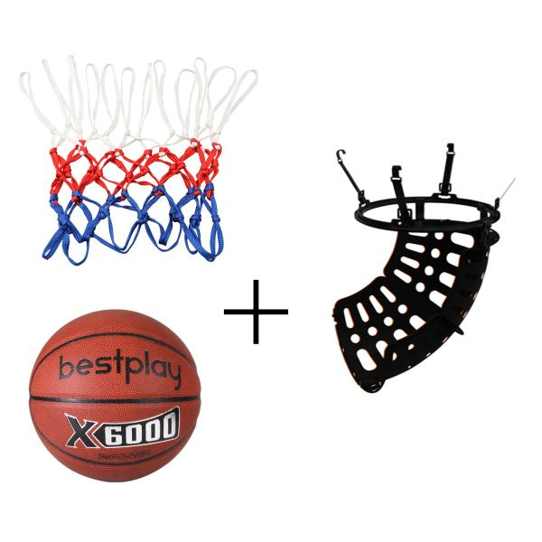 Ball return + net + Bestplay basketball 5