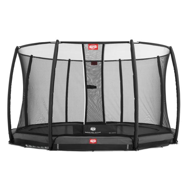 Berg Champion 430 Inground + Deluxe sikkerhedsnet inground trampolin
