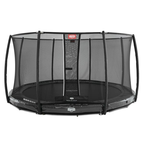 Berg Elite 380 InGround + Deluxe sikkerhedsnet inground trampolin
