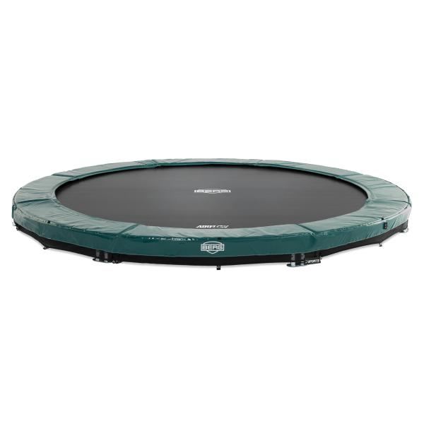 Berg Elite 430 InGround grøn inground trampolin