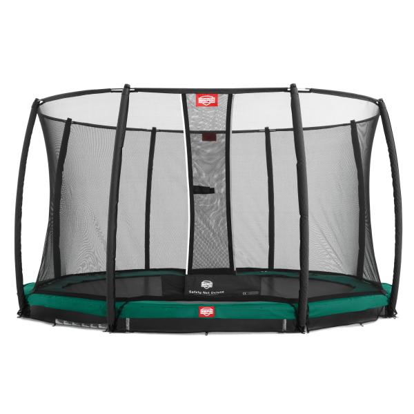Berg Champion 380 Inground + Deluxe sikkerhedsnet inground trampolin