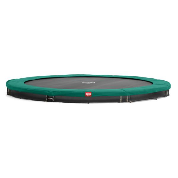 Berg Champion 380 InGround grøn inground trampolin