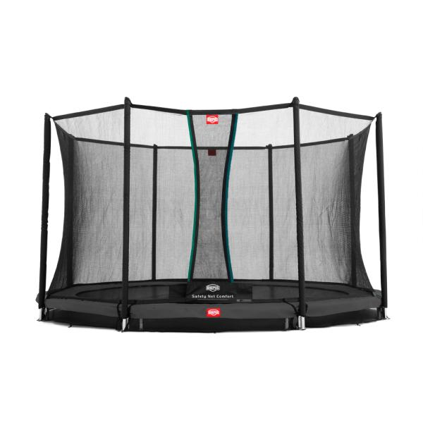 Berg Favorit 380 InGround + Comfort sikkerhedsnet inground trampolin