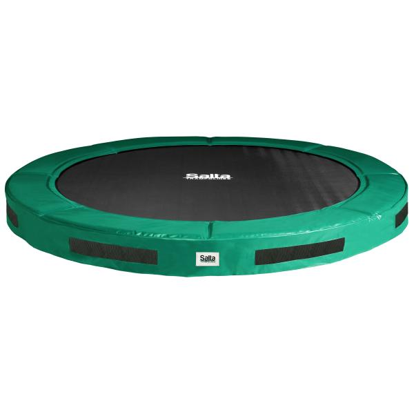 Salta Excellent Ground grøn ø427cm inground trampolin