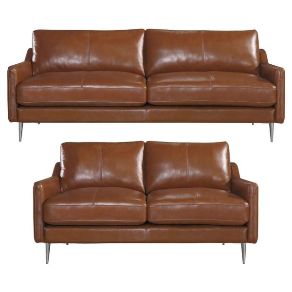 Sheffield 2+3 pers. sofa brun sofa