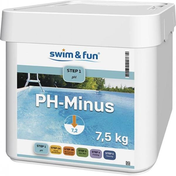 Swim & Fun PH Minus 7,5kg kemikalier