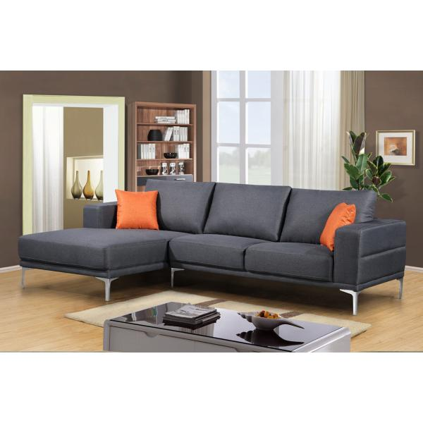 Chaiselong Sofa. Best Hampton Usofa Med Chaiselong Hjrevendt Gr With ...