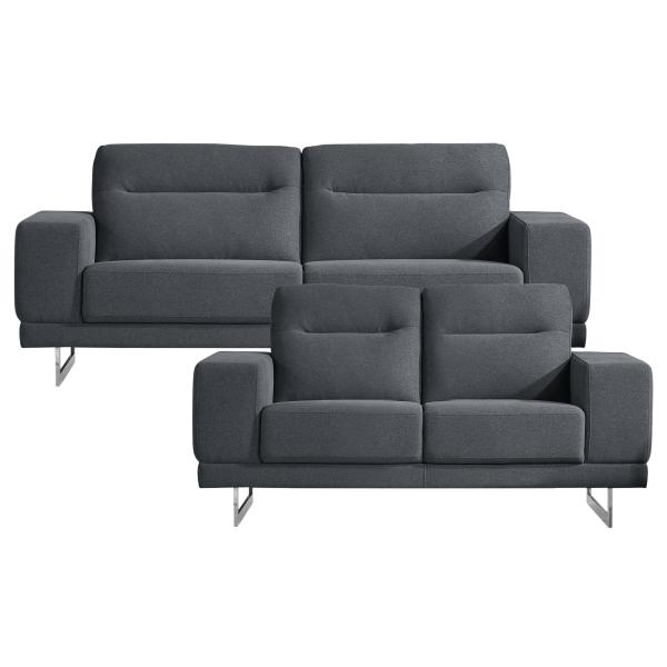 Oakland 2+3 pers. sofa lysegrå