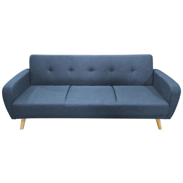New York 3 pers. sofa denim blå sofa