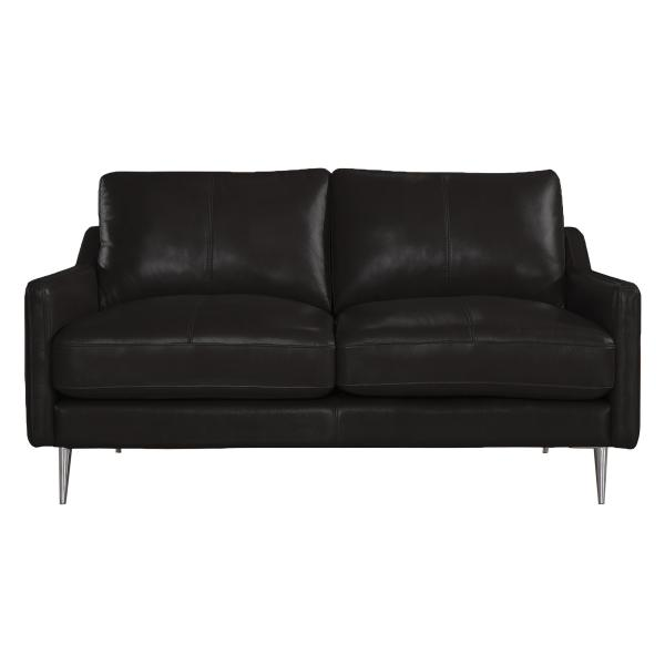 Sheffield 2 pers sofa sort læder sofa
