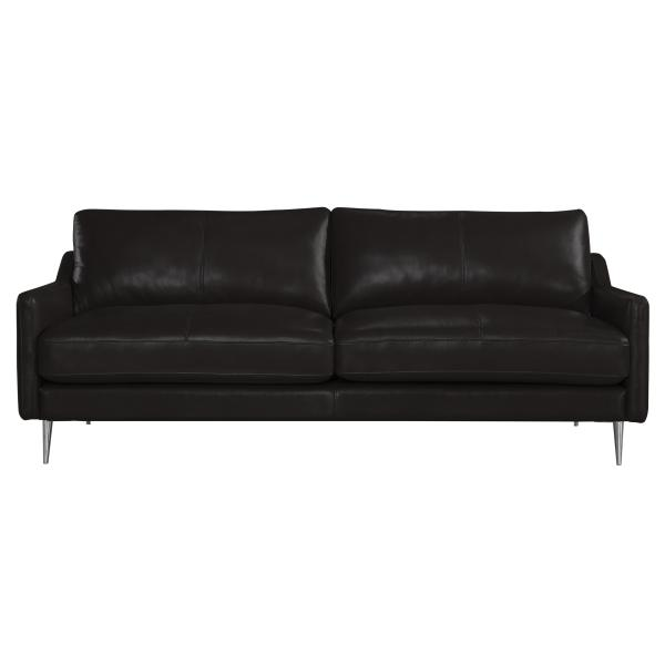 Sheffield 3 pers sofa sort læder sofa