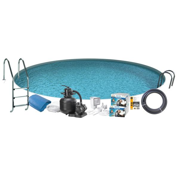 Swim & Fun Pool Basic InGround ø4,2x1,5m badebassin