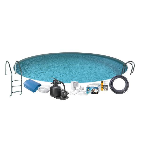 Swim & Fun Pool Basic InGround ø3,5x1,2m badebassin