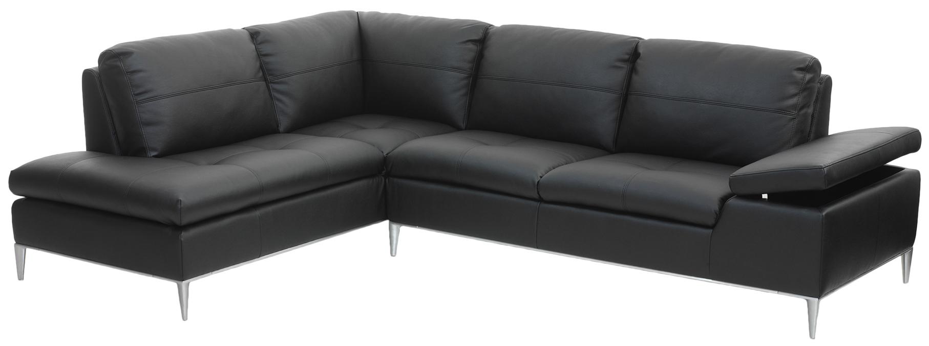 Af modish Chicago chaiselong sofa sort læder venstrevendt, køb din nye UA26