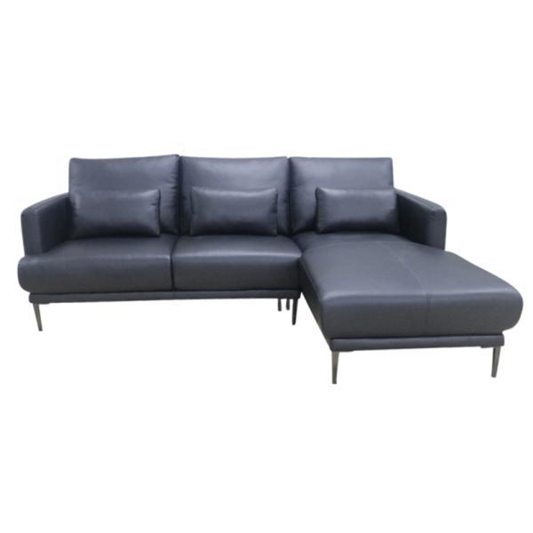 8a2caf03786 Oxford chaiselong sofa højrevendt sort sofa
