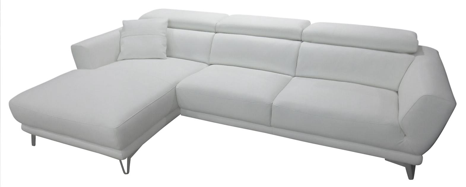 611ebd6bb22 Imola chaiselong hvid læder venstrevendt, køb din nye Imola ...