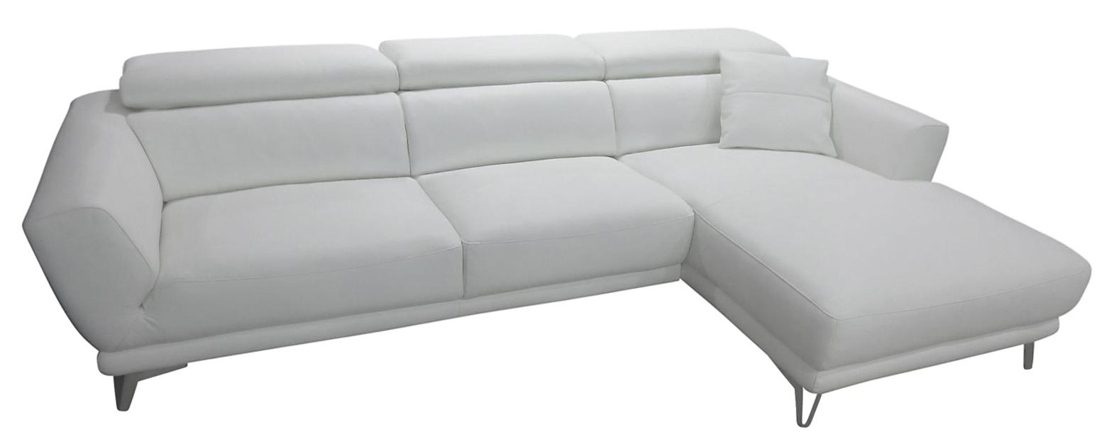 3e86b26efc7 Imola chaiselong hvid læder højrevendt, køb din nye Imola chaiselong ...