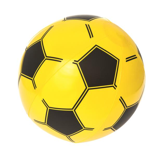 Bestway Fodbold badebold gul ø41cm