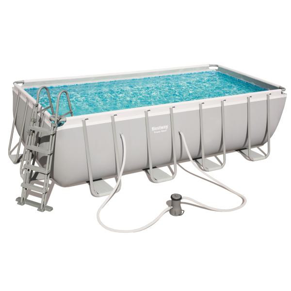 Power Steel pool 488x244x122cm badebassin