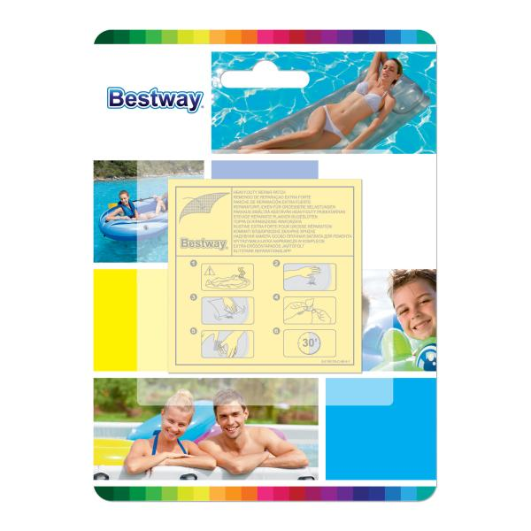 Bestway reperationslapper til pools pool tilbehør