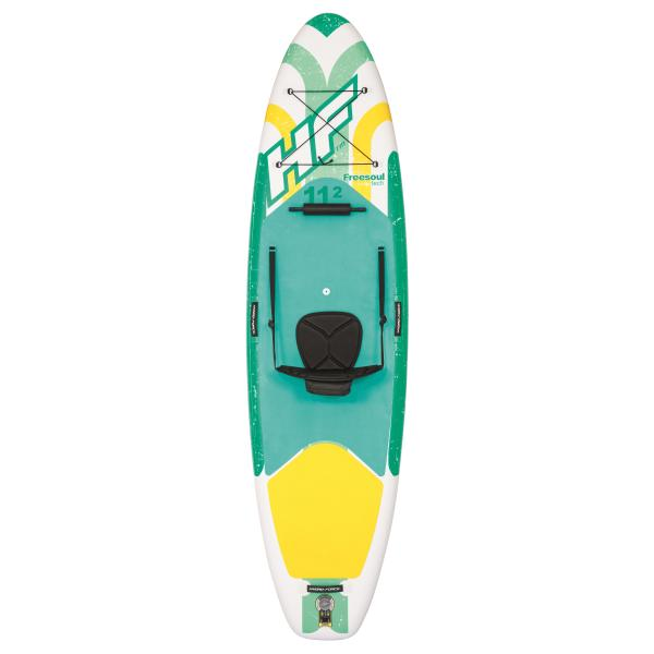 Bestway Hydro-Force Freesoul Tech paddleboard 340x89x15cm stand up paddle board (sup)