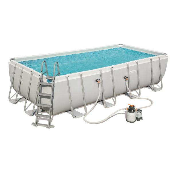 Power steel pool 549x274x122cm badebassin