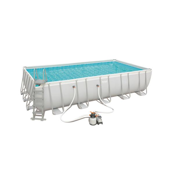 Power steel pool 671x366x132cm badebassin