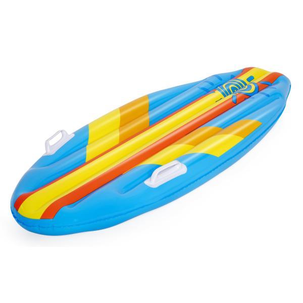 Bestway Oppustelig surfboard blå 114x46cm