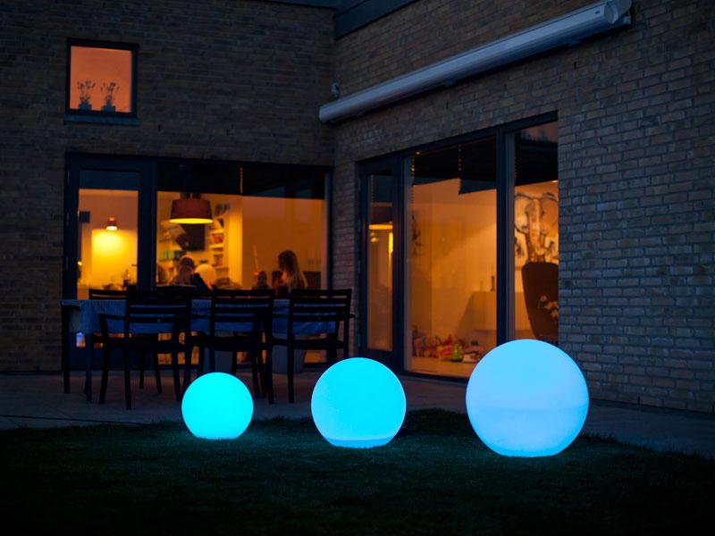 Enormt LED kugle - Bestil nu - vi sender alle hverdage. GB23