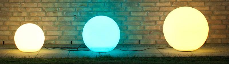 Fantastisk LED kugle - Bestil nu - vi sender alle hverdage. WU46