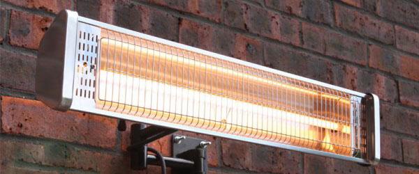 Seriøst Elektrisk terrassevarmer - Bestil nu - vi sender alle hverdage. MG59